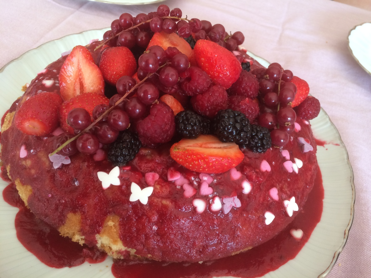 Inspiration Top chef : La couronne aux fruits rouges